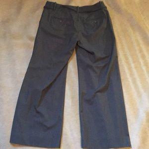 GAP Pants - Ladies Gap charcoal gray ankle trousers - size 8